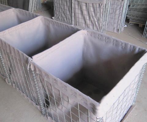 Wire gabions baskets
