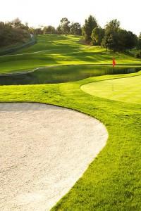 golf sand banner