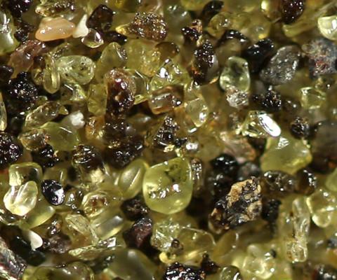 olivine sands