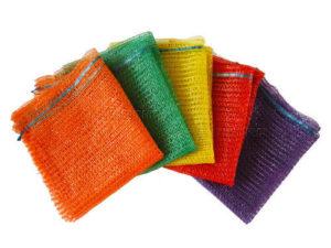 monofilament mesh firewood bags