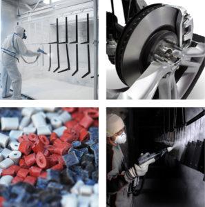 graphite powders applications