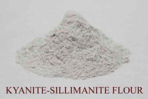 Kyanite sillimanite flour