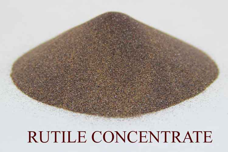 Rutile concentrate
