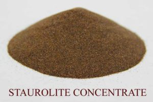 staurolite concentrate