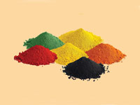 Iron Oxide Red,  Yellow, Black, Brown, Green, Orange, Blue
