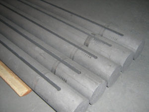 Graphite rods on stock