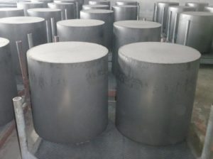 Isostatic pressing graphite